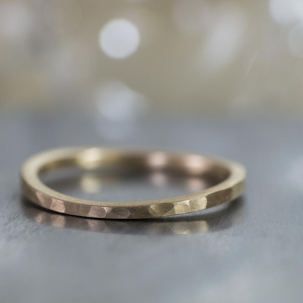 オーダーメイドマリッジリング 屋久島のアトリエ ゴールド 屋久島で作る結婚指輪