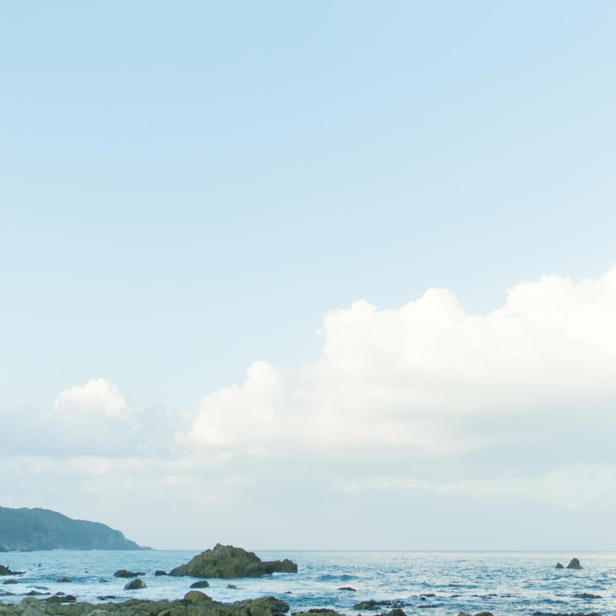 屋久島の海、空 屋久島海とジュエリー 屋久島でつくる結婚指輪