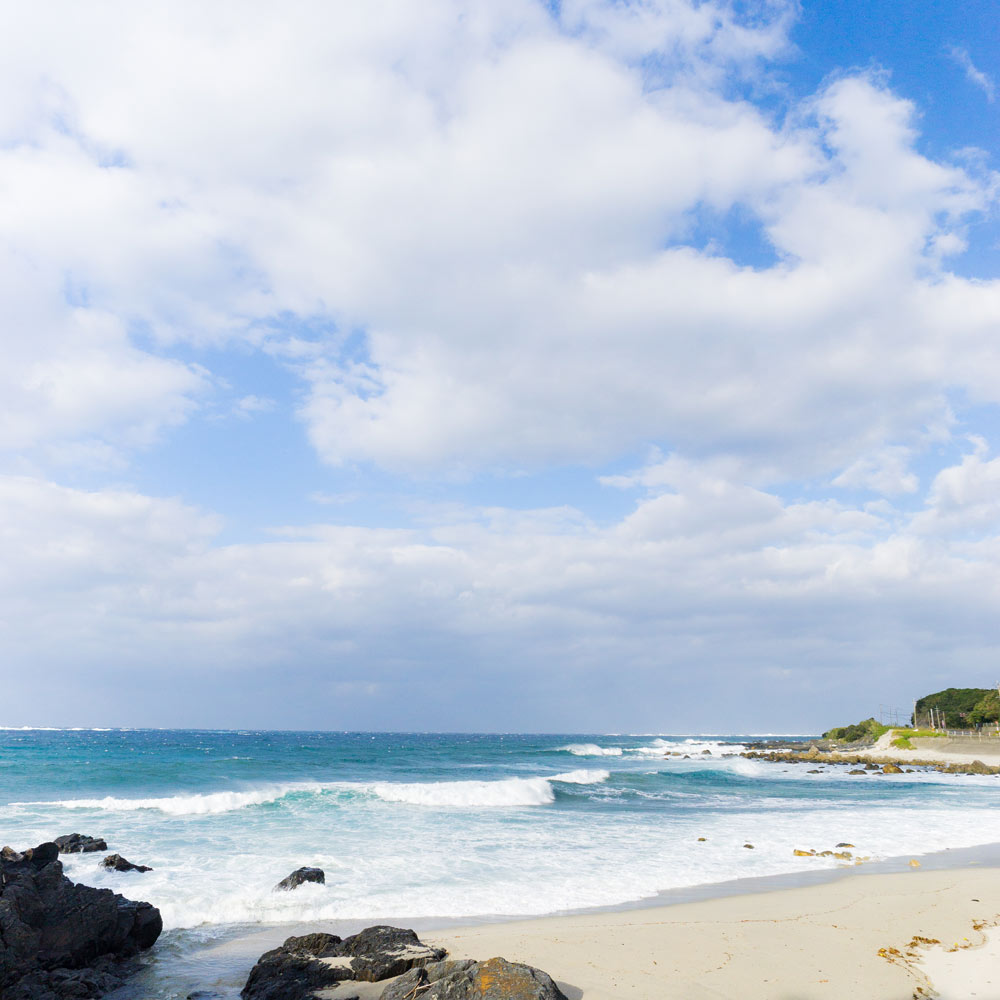 屋久島の海、空 オーダーメイドジュエリーのモチーフ