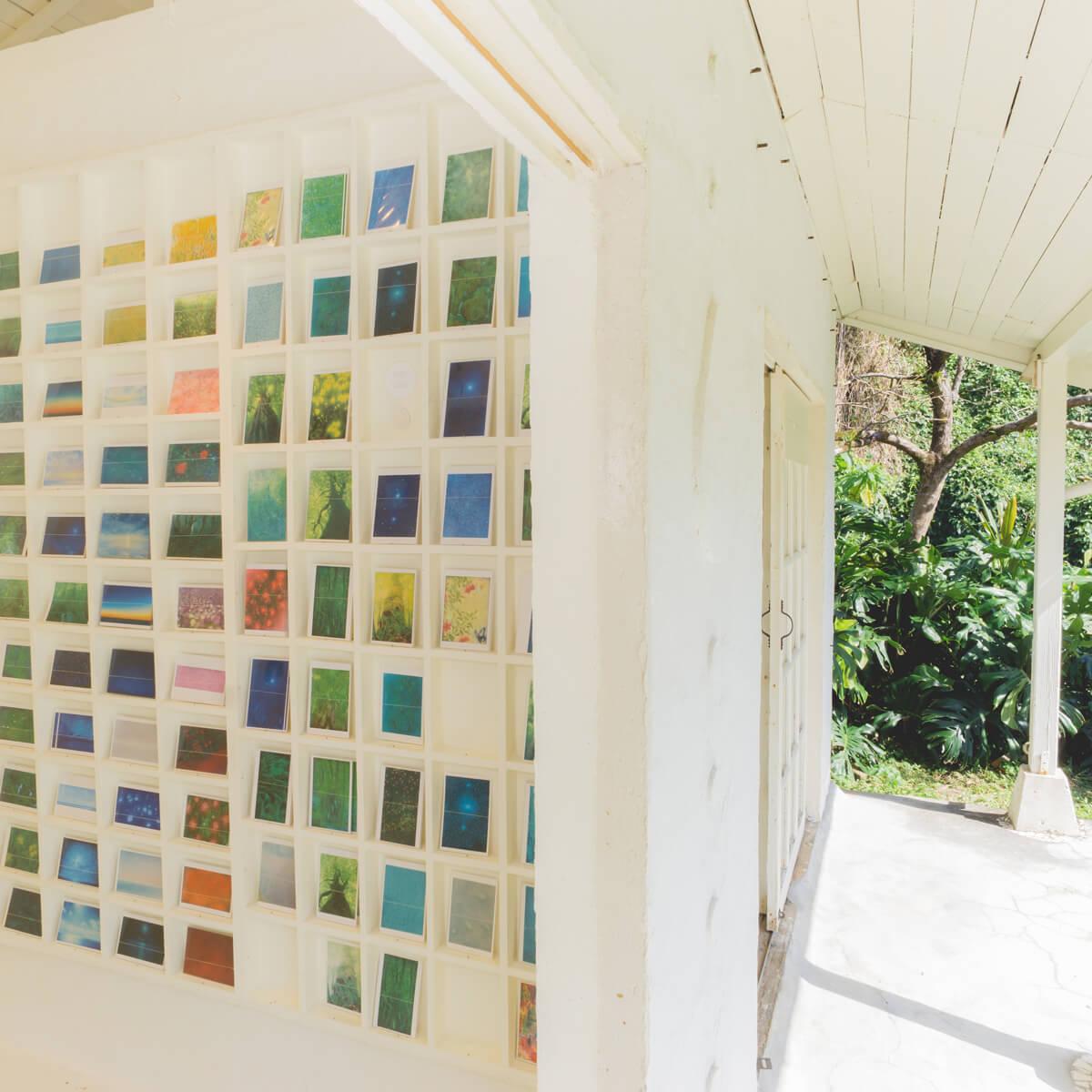 屋久島しずくギャラリー 絵画の部屋 屋久島の観光 屋久島でつくる結婚指輪