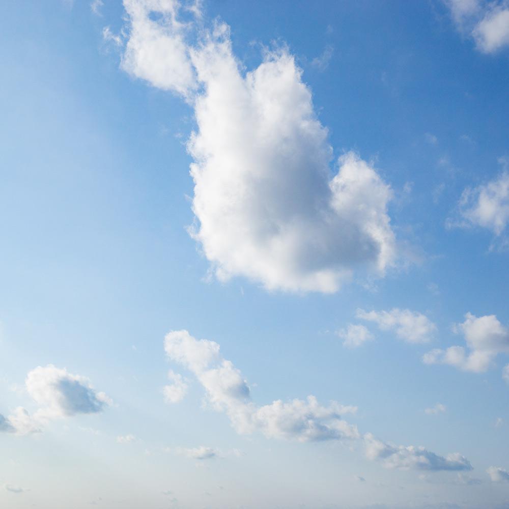 屋久島の空、雲 オーダーメイドジュエリーのモチーフ