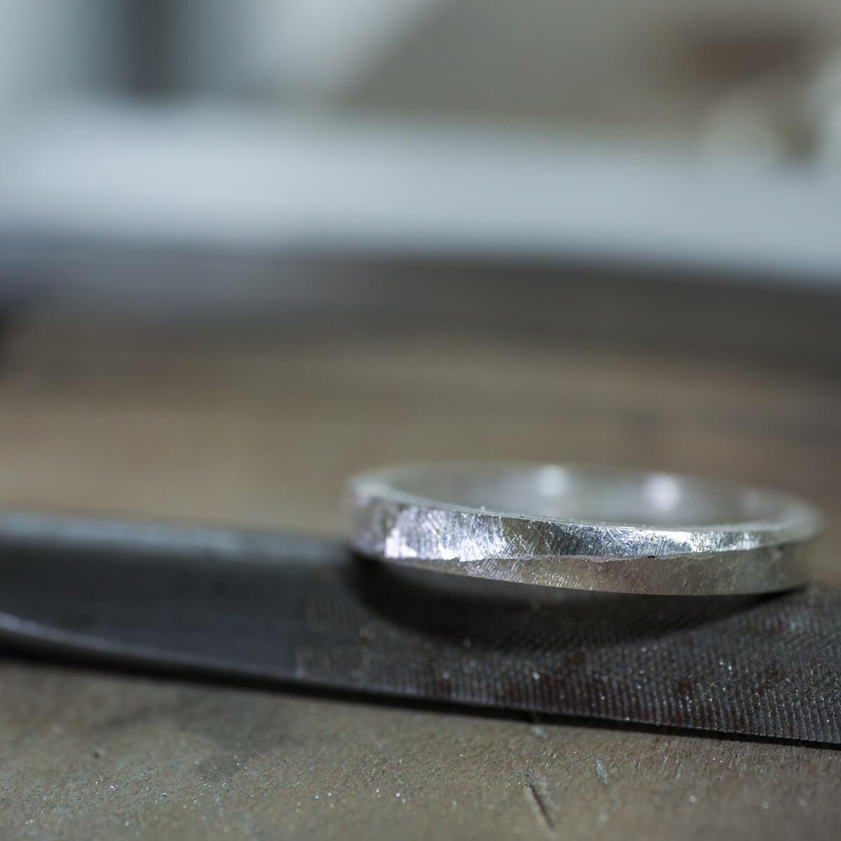 秋の自由研究 結婚10周年指輪のサンプルを作る! 波のリズムとリングの話