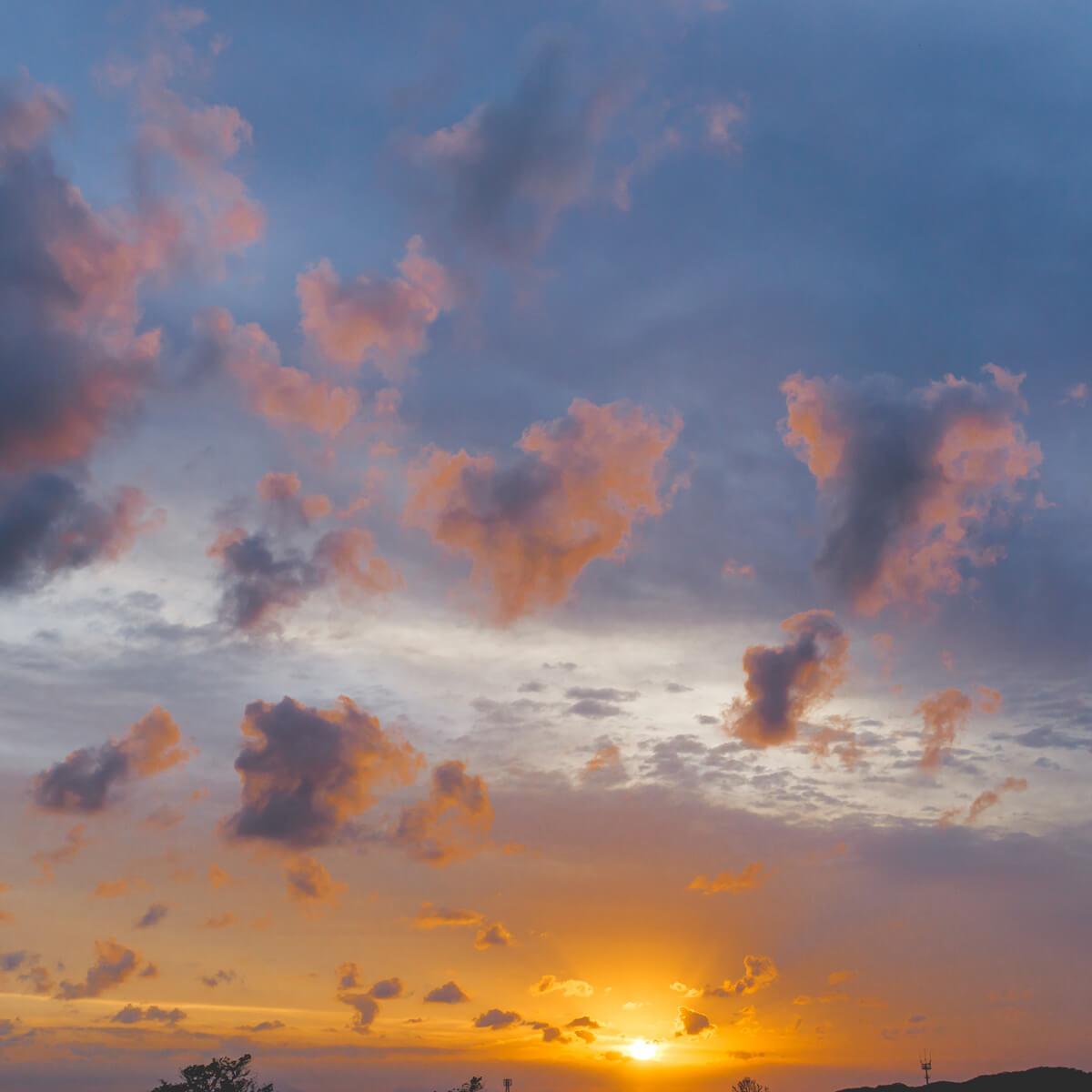 屋久島の夕日 オーダーメイドマリッジリングのインスピレーション 屋久島日々の暮らしとジュエリー