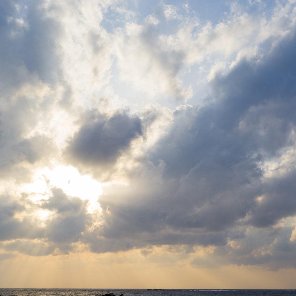 屋久島の海、空 屋久島日々の暮らしとジュエリー