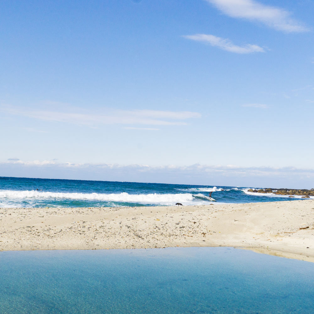 屋久島の海 海とジュエリーと オーダーメイドマリッジリングのモチーフ