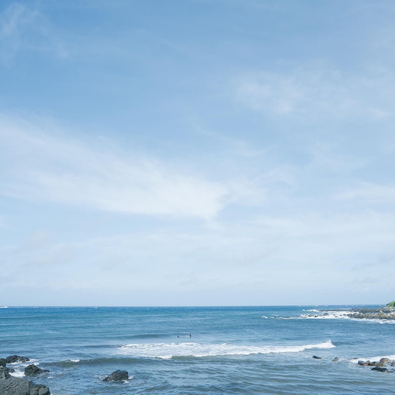 屋久島の海、空 屋久島海とジュエリー オーダーメイドマリッジリングのインスピレーション 屋久島でつくる結婚指輪