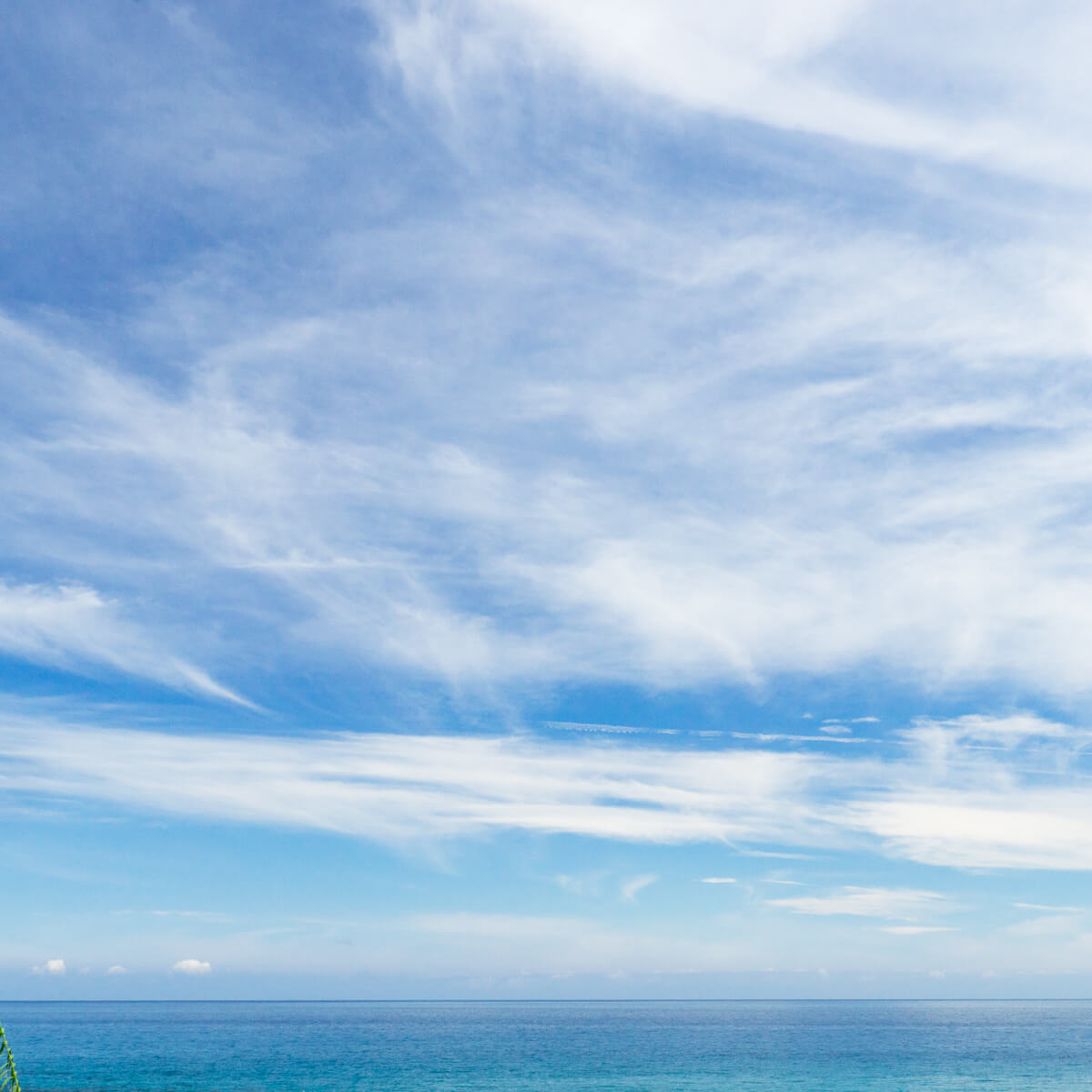 屋久島の空 海 屋久島日々の暮らしとジュエリー オーダーメイドマリッジリングのモチーフ
