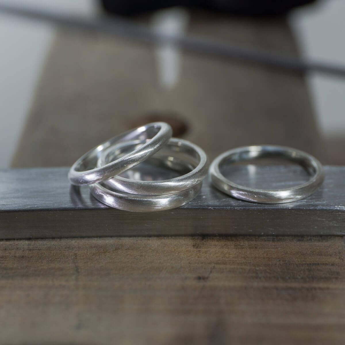 結婚10周年の記念に選ぶ指輪!サンプルリングを作る。 金のツワブキリング、銀のツワブキリング。 2018夏の思い出
