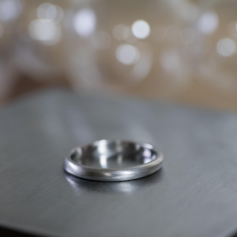 オーダーメイドマリッジリング 屋久島ジュエリーのアトリエ プラチナ 屋久島でつくる結婚指輪