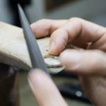 オーダーメイドマリッジリングの制作風景 ジュエリーのアトリエ プラチナ、ゴールド 屋久島でつくる結婚指輪