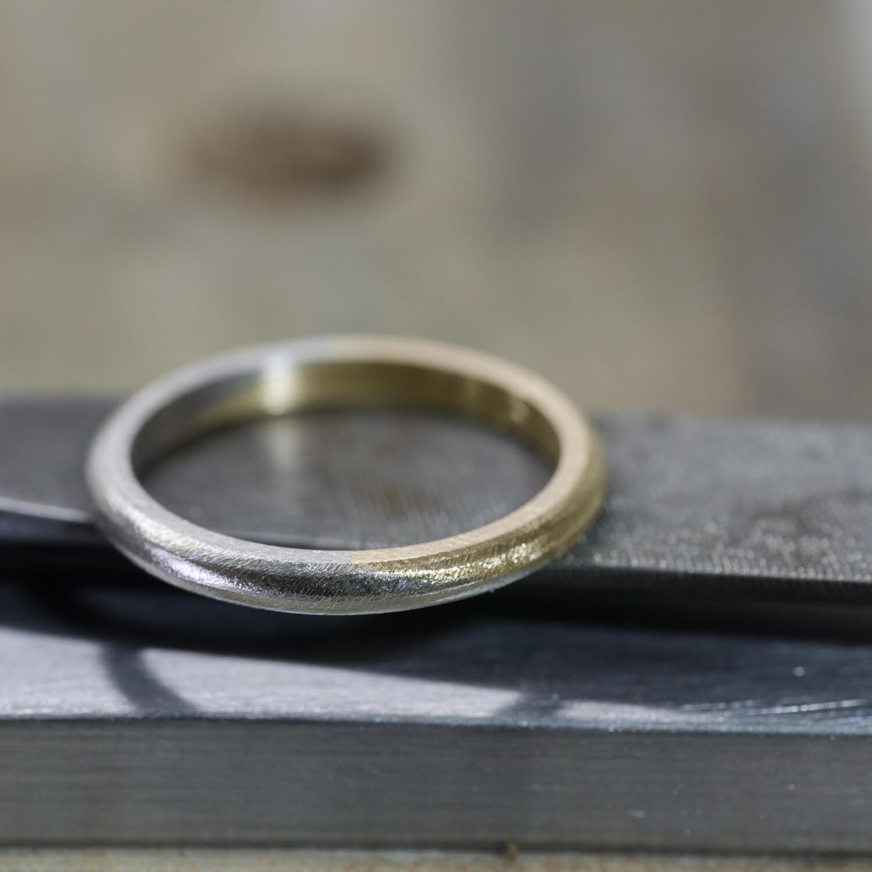 場面3 クローズアップ オーダーメイドマリッジリングの制作風景 ジュエリーのアトリエ プラチナ、ゴールド 屋久島でつくる結婚指輪