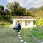 屋久島しずくギャラリー外観 二人とジュエリー作家中村圭 屋久島でつくる結婚指輪