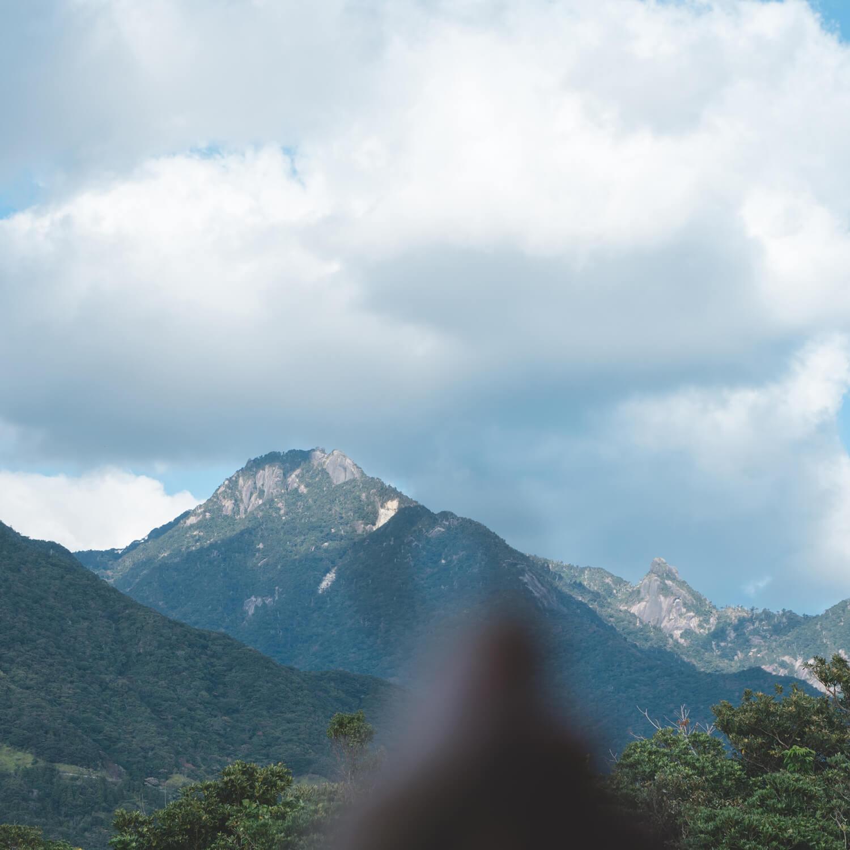 屋久島の山々 屋久島日々の暮らしとジュエリー オーダーメイドマリッジリングのインスピレーション