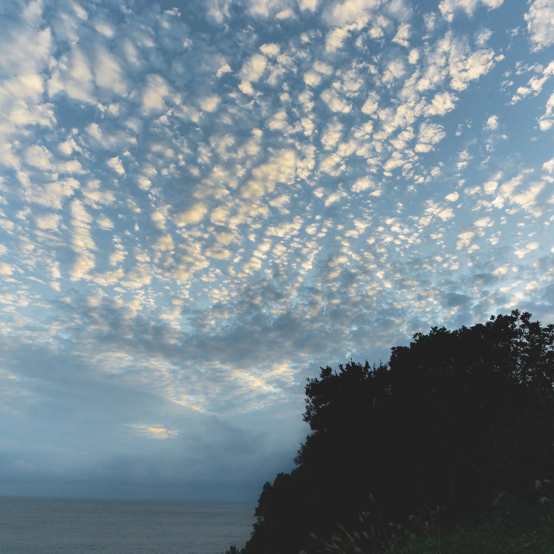 屋久島の空 うろこ雲夕焼け 屋久島日々の暮らしとジュエリー