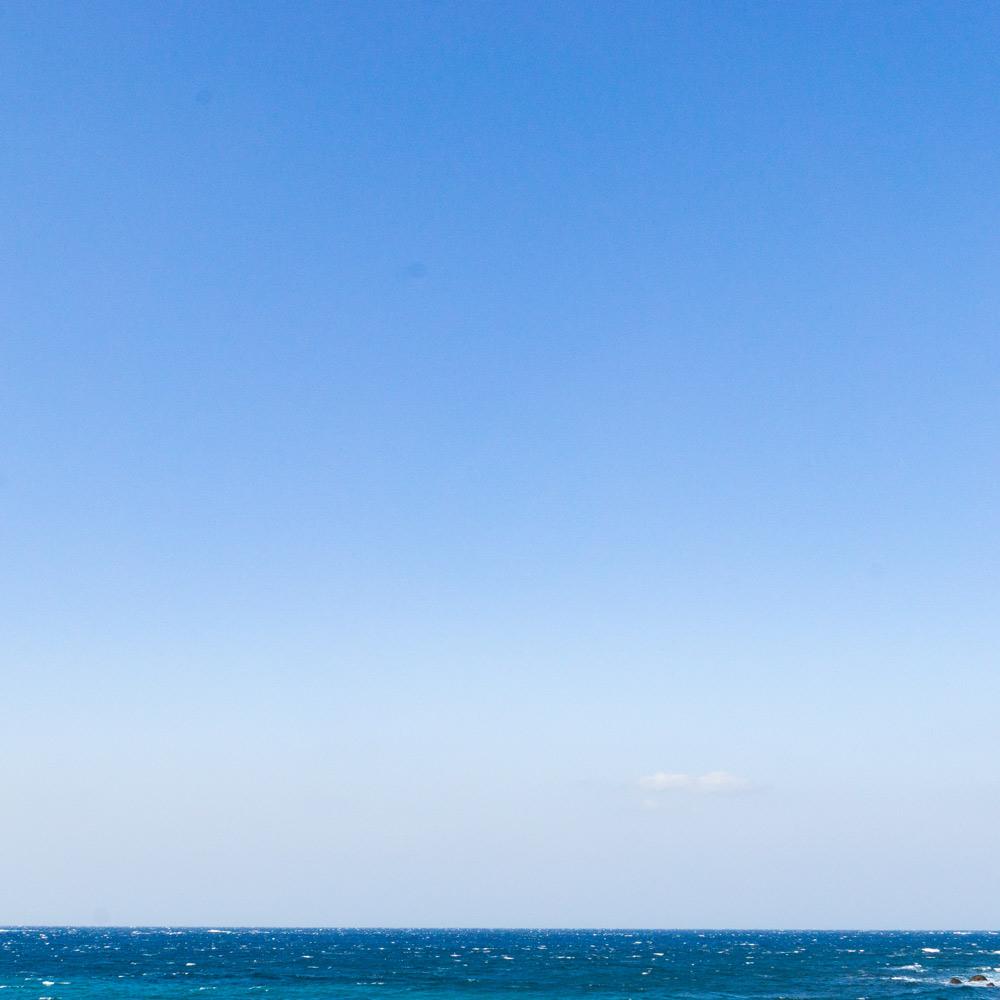 屋久島の青い海、空 オーダーメイドジュエリーのモチーフ 屋久島でつくる結婚指輪
