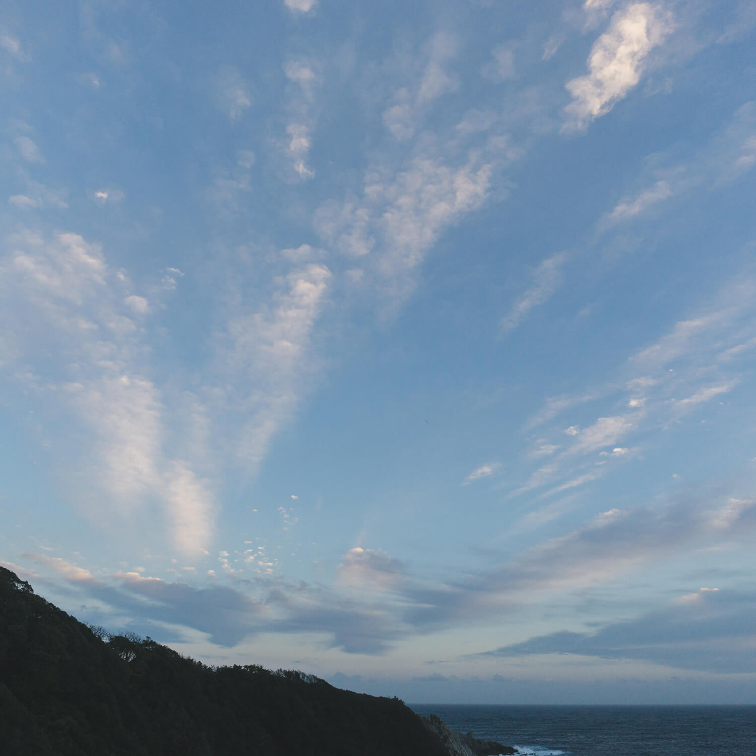 I saw new sky between jewelry making at Yakushima south