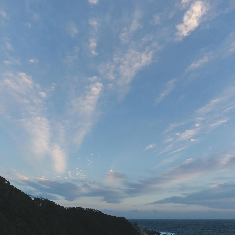 I saw new sky between jewelry making at Yakushima south