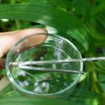 オーダーメイドマリッジリングの素材 屋久島の緑バック プラチナ、シルバー 屋久島で作る結婚指輪