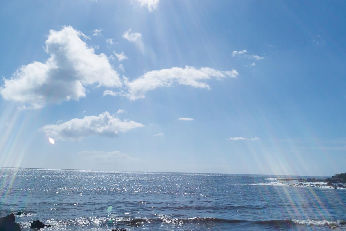 屋久島の海 そら 屋久島海とジュエリー オーダーメイドマリッジリングのモチーフ