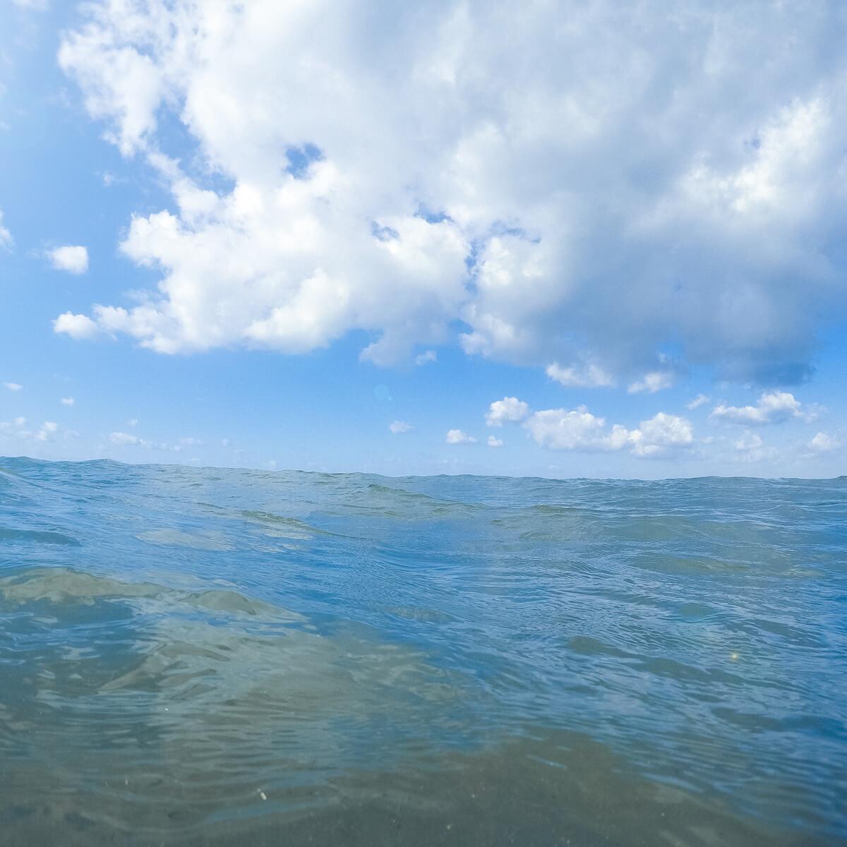 屋久島の海 屋久島海とジュエリー オーダーメイドマリッジリングのモチーフ