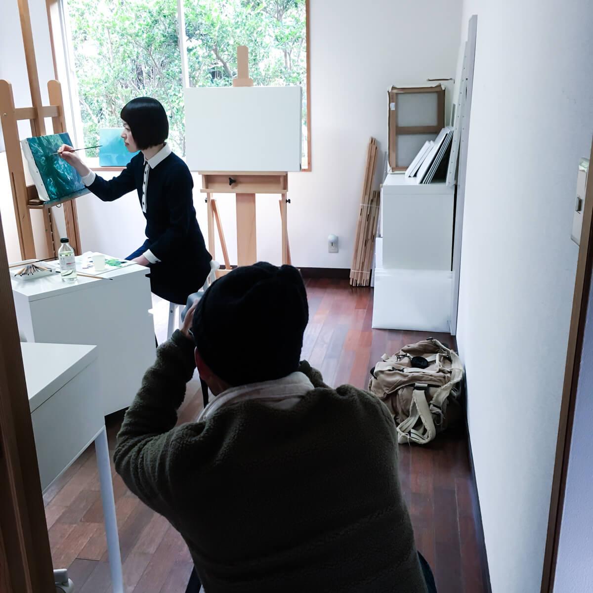 屋久島 ジュエリーと絵画のアトリエ 屋久島作家取材