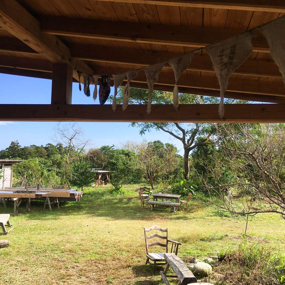 屋久島 カフェ と庭