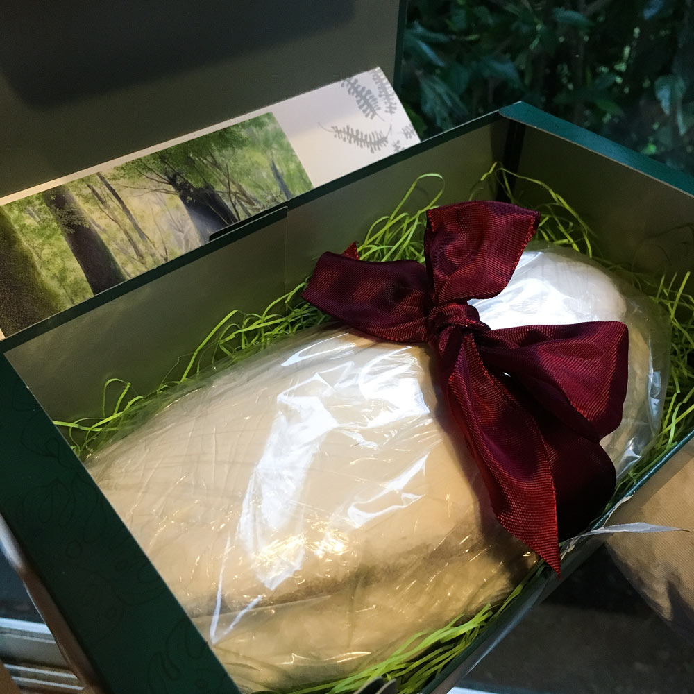 箱の中にシュトレン 屋久島日々の暮らしとジュエリー