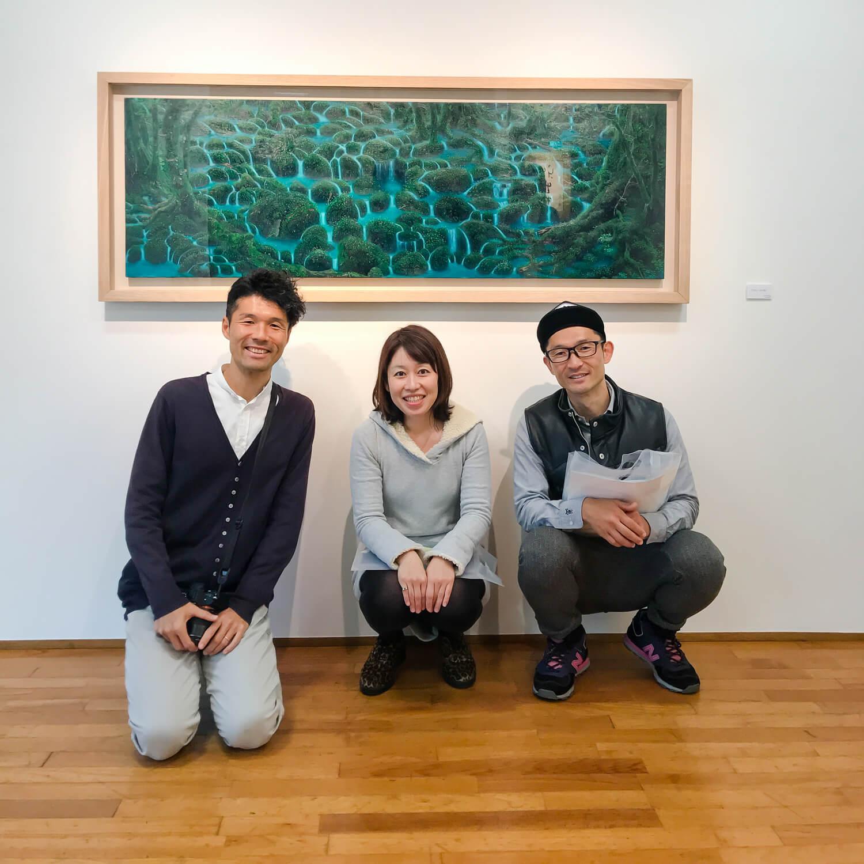 屋久島でつくる結婚指輪 東京番外編 高田裕子絵画展2019 day3
