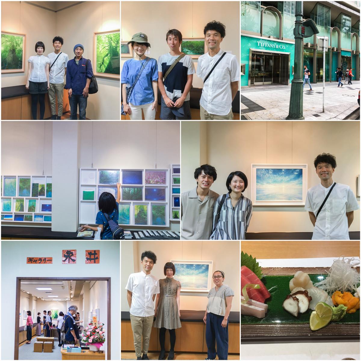 裕子さん個展レポート 心斎橋ギャラリー永井、前半を終えました!
