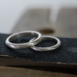 オーダーメイドマリッジリングの制作風景 ジュエリーのアトリエ シルバーリング 屋久島でつくる結婚指輪
