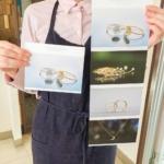 ジュエリーのカタログ 指輪の表紙 ピアス 結婚指輪 ネックレス