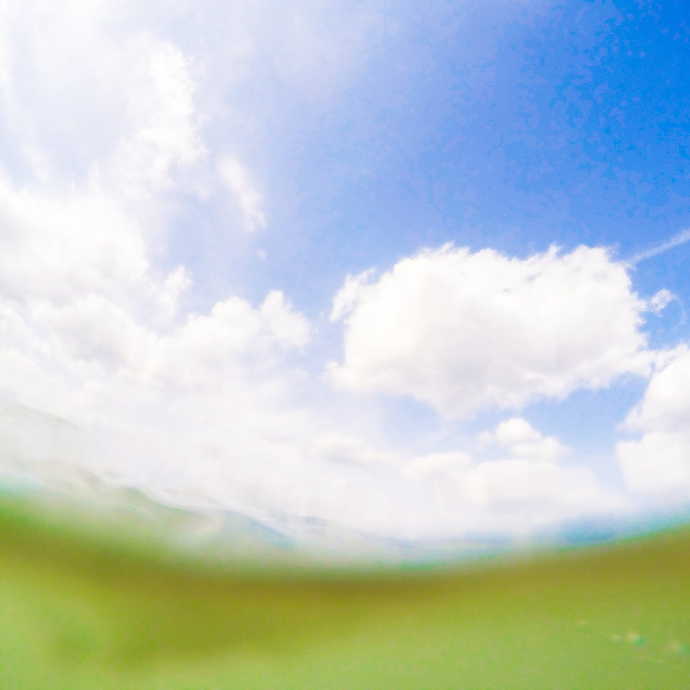 屋久島の海と空と