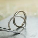 オーダーメイドマリッジリングの制作風景 プラチナ 屋久島で作る結婚指輪