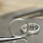 オーダーメイドマリッジリングの制作風景 プラチナリング 屋久島で作る結婚指輪