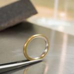 オーダーメイドマリッジリングの制作風景 ゴールド、プラチナ 屋久島で作る結婚指輪