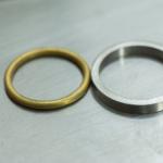 結婚指輪の制作風景 プラチナ、ゴールドリング 屋久島でハンドメイド