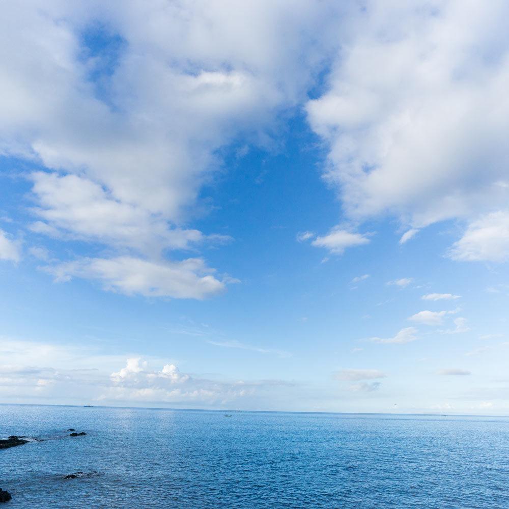 屋久島 海と空