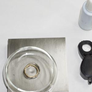 オーダーメイドジュエリー 磨き直し ゴールド、ダイヤモンド 屋久島で作る結婚指輪
