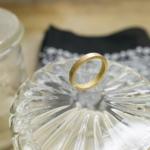オーダーメイドマリッジリングの制作風景 ゴールドのリング 屋久島で作る結婚指輪