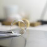 ジュエリーの制作風景 屋久島の月モチーフのマリッジリング プラチナ、ゴールド 屋久島でつくる結婚指輪