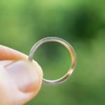 月モチーフ オーダーメイドの指輪 ゴールド、プラチナ 屋久島でつくる結婚指輪