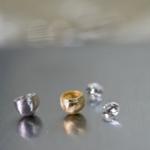 婚約指輪の制作風景 ゴールド、プラチナ、ダイヤモンド オーダーメイドジュエリー