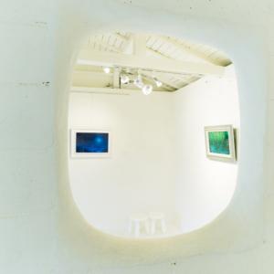 屋久島しずくギャラリー 館内 絵画の部屋