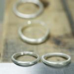 結婚指輪のサンプルリング 制作風景 屋久島でつくる結婚指輪