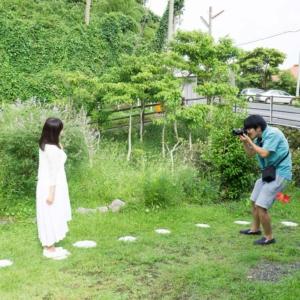 屋久島しずくギャラリー 記念撮影風景